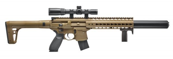 Sig Sauer MCX Air Rifle 1X4X24 Scope FDE 1