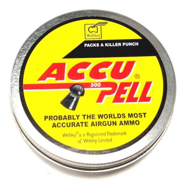 Webley Accu Pell .117 / .22 Pellets 1