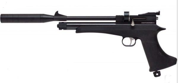 Victory CP2 CO2 Pistol / Rifle Combo Black 6