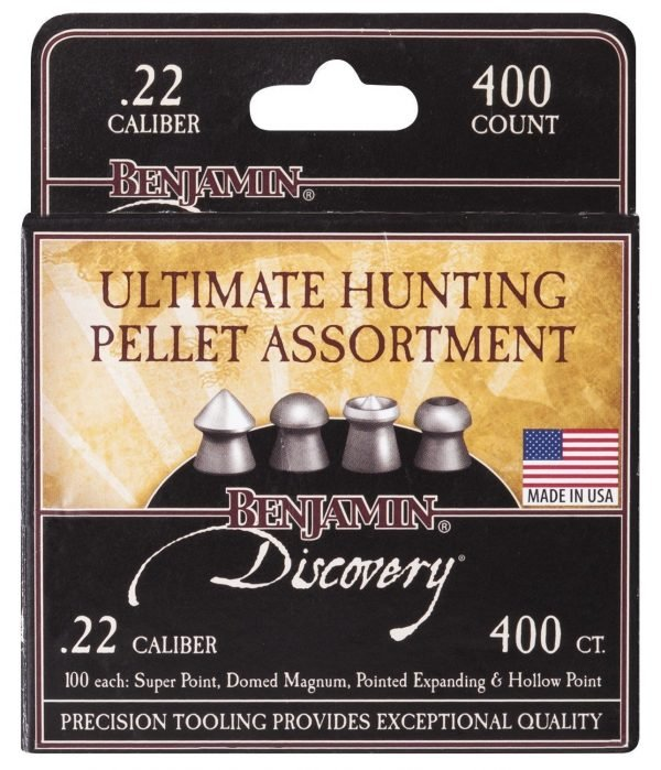 Benjamin Hunting Pellet Assortment .22 Pellets (400) 1