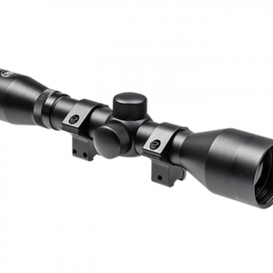 OptiMate 4X40 Rifle Scope with Mounts 4