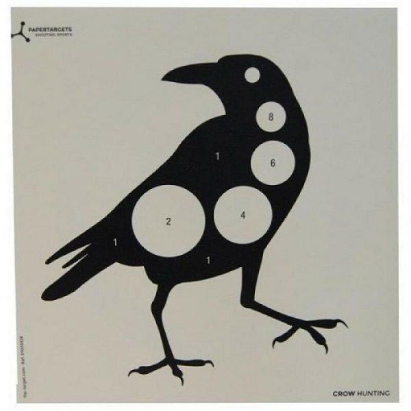 Crow Card Target 17cm Airgun 1