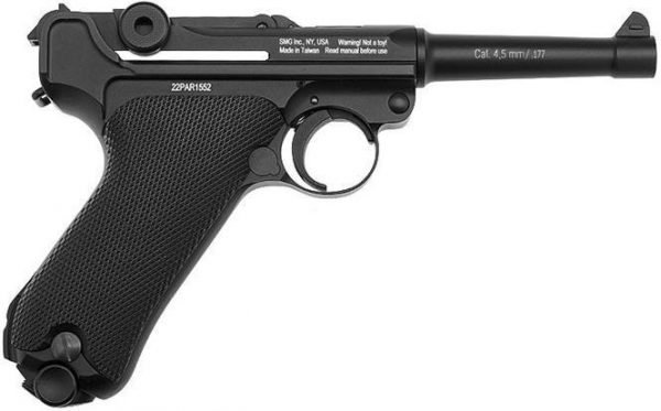 Gletcher P08 Parabellum Luger CO2 Pistol 4