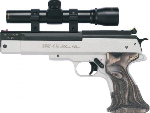 PAO 2 X 20 Pistol Scope With Bisley Mounts 3