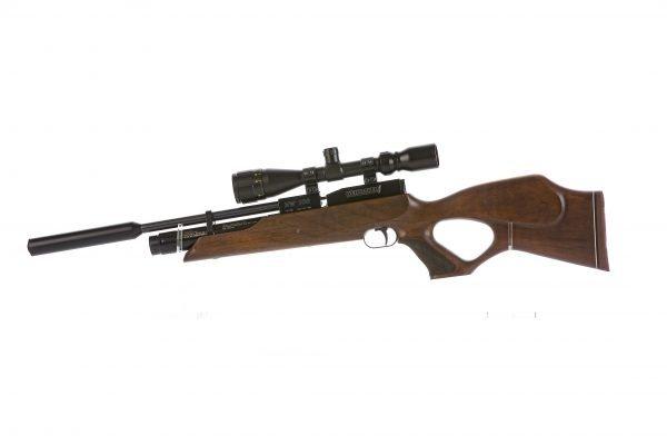 Weihrauch HW100 KT Thumbhole PCP Air Rifle Walnut 1