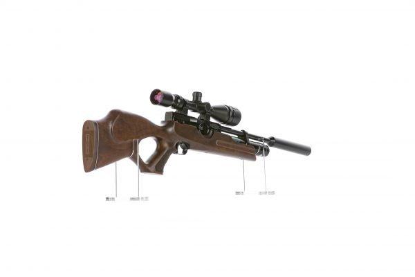 Weihrauch HW100 KT Thumbhole PCP Air Rifle Walnut 6