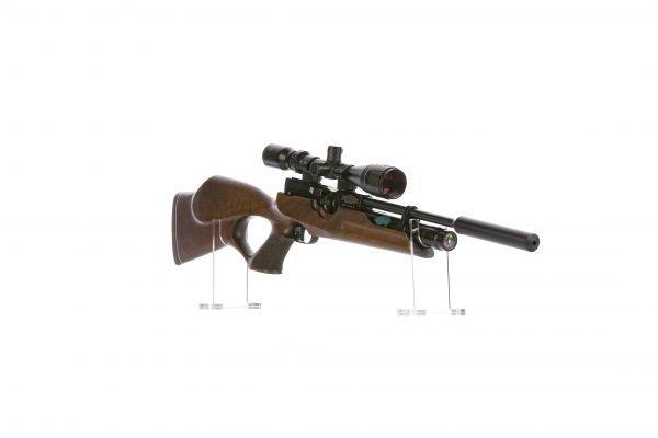 Weihrauch HW100 KT Thumbhole PCP Air Rifle Walnut 4