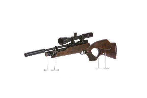 Weihrauch HW100 KT Thumbhole PCP Air Rifle Walnut 3