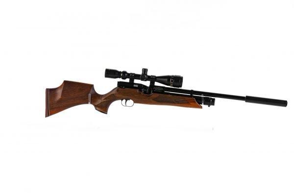 Weihrauch HW100 KS FSB Karbine Sporter Fully Shrouded Barrel PCP Air Rifle 3
