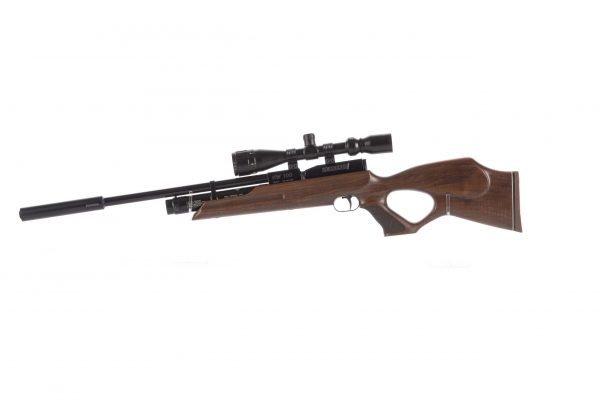 Weihrauch HW100 KT FSB Karbine Thumbhole Fully Shrouded Barrel PCP Air Rifle 1