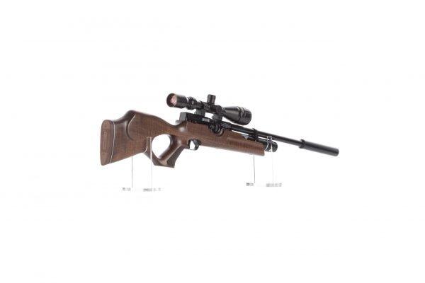 Weihrauch HW100 KT FSB Karbine Thumbhole Fully Shrouded Barrel PCP Air Rifle 3