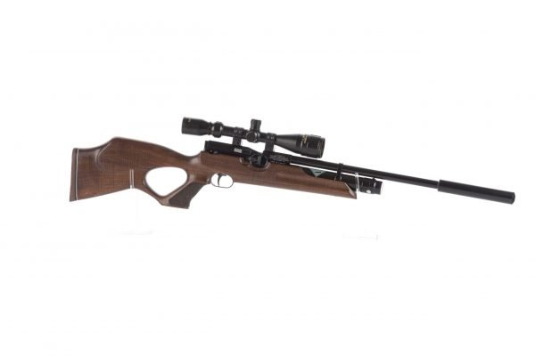 Weihrauch HW100 KT FSB Karbine Thumbhole Fully Shrouded Barrel PCP Air Rifle 2