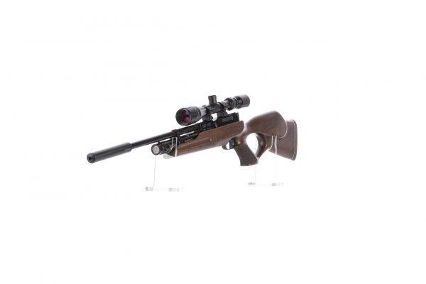 Weihrauch HW100 KT FSB Karbine Thumbhole Fully Shrouded Barrel PCP Air Rifle 4