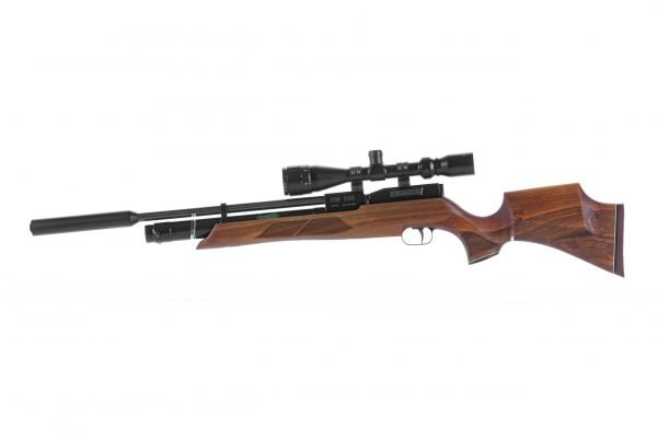Weihrauch HW100 S Sporter Walnut PCP Air Rifle 1