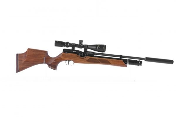Weihrauch HW100 S Sporter Walnut PCP Air Rifle 2