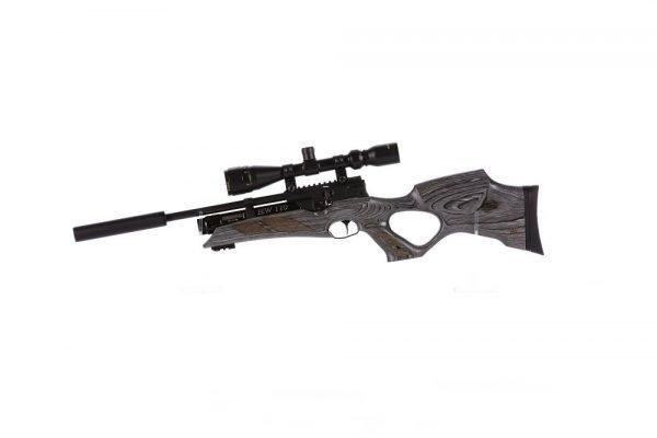 Weihrauch HW110 KT Tombhole Karbine Grey Laminate PCP Air Rifle 1