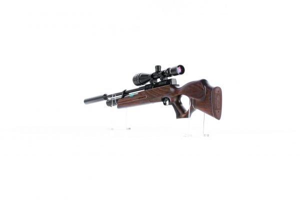 Weihrauch HW100 T Thumbhole PCP Air Rifle Walnut 5