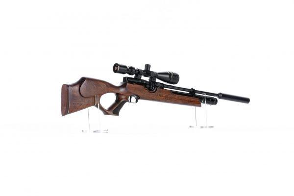 Weihrauch HW100 T Thumbhole PCP Air Rifle Range 2