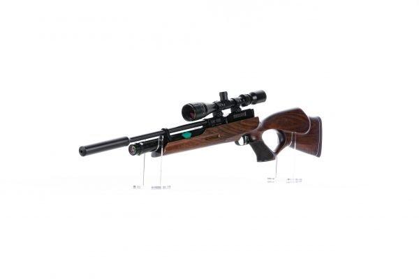 Weihrauch HW100 T Thumbhole PCP Air Rifle Walnut 4