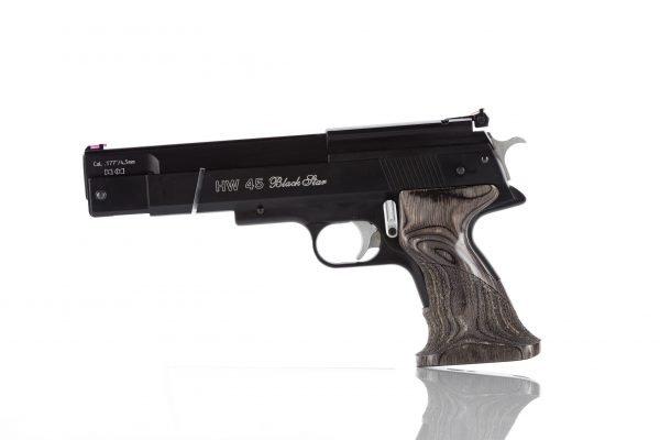 Weihrauch HW45 Black Star Over Lever Spring Pistol 1
