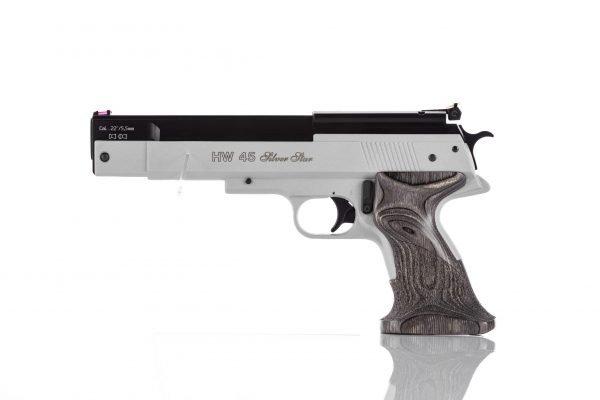 Weihrauch HW45 Silver Star Over Lever Spring Pistol 1