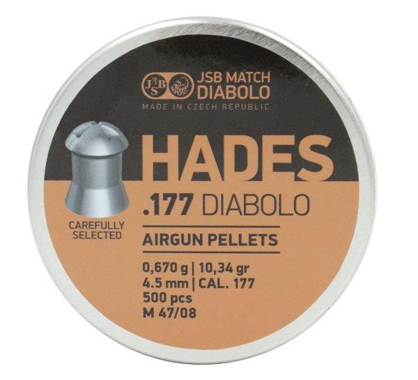JSB Hades Diabolo Pellet .177, 10.34 gr (500) 1