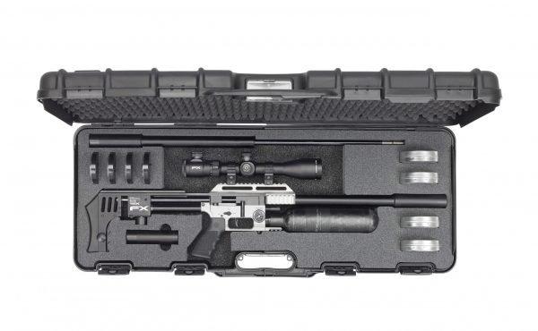 FX Impact MKII PCP Silver Air Rifle 4