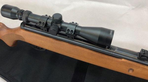 Hatsan 900x Break Barrel Package 3-9 X 40 Scope, Mounts and Rifle Case 2