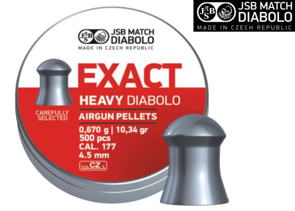 JSB Exact Heavy Pellet .177 10.34 gr 1