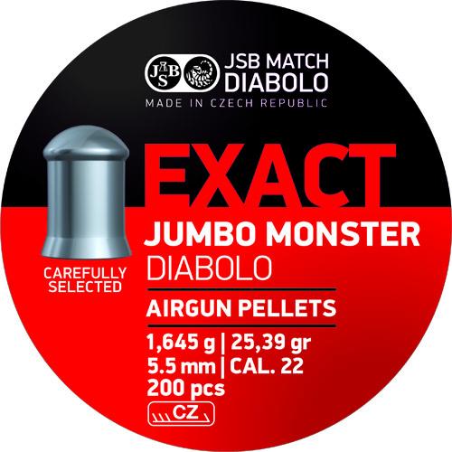 JSB Jumbo Monster Diabolo Pellet .22 25.39 gr (200) 1