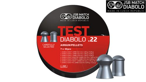 JSB Exact Test .22 Pellets (210) 1