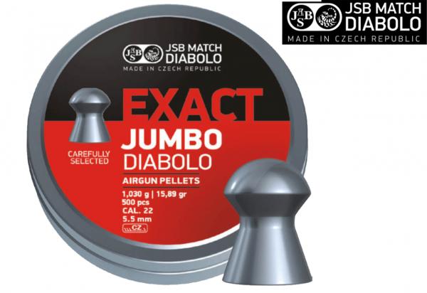 JSB Exact Jumbo Diabolo Pellet .22 15.89 gr 1