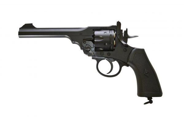 Webley MKVI Service Revolver Black Finish 3