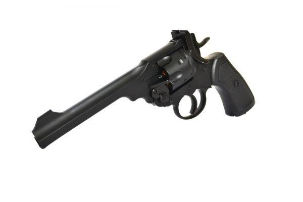 Webley MKVI Service Revolver Black Finish 2