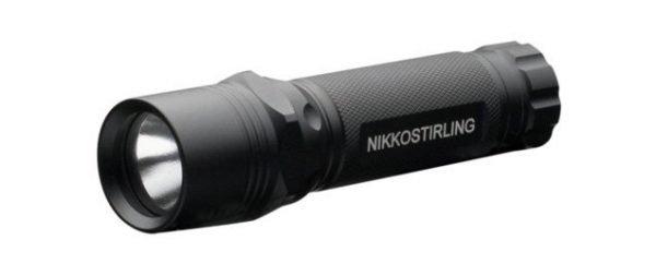 Nikko Stirling 150 Lumens Super Bright LED Torch With Barrel Mount 1