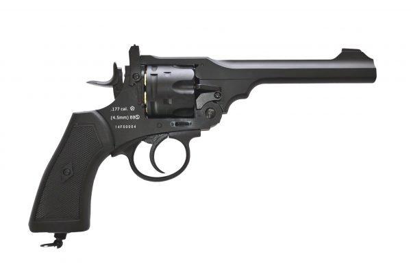 Webley MKVI Service Revolver Black Finish 1