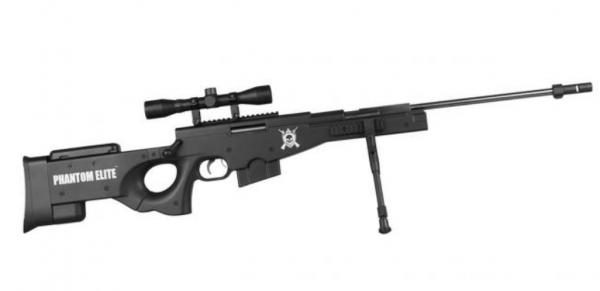 Nova Vista L115 -B Phantom Elite Sniper Gas Ram Air Rifle 1