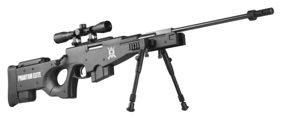Nova Vista L115 -B Phantom Elite Sniper Gas Ram Air Rifle 2