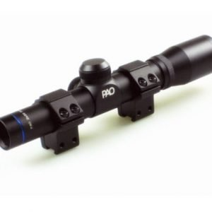 PAO 2 X 20 Pistol Scope With Bisley Mounts 2