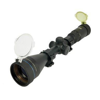 PAO 3-9 X50 Illuminated  Mil Dot Scope with Mounts 1