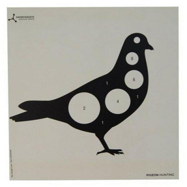 Pigeon Card Target 17cm Airgun 1