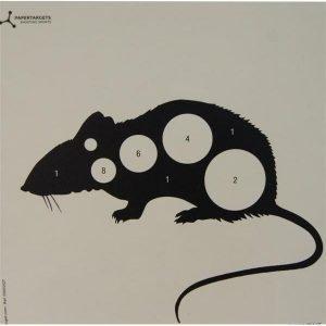 Rat Card Target 17cm Airgun 4