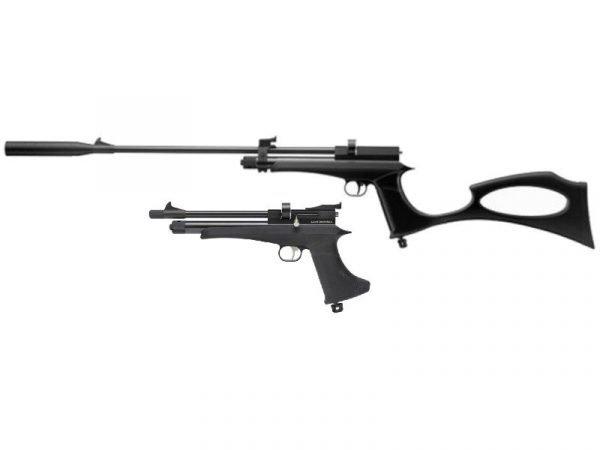 Victory CP2 CO2 Pistol / Rifle Combo Black 1