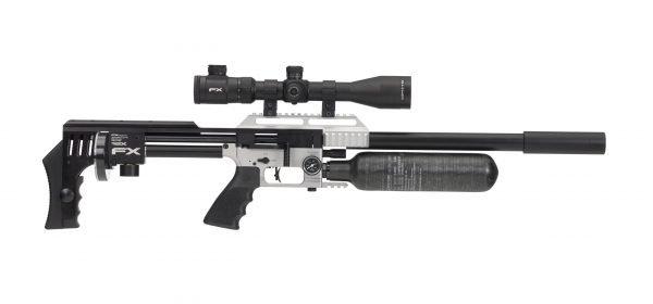 FX Impact MKII PCP Silver Air Rifle 1
