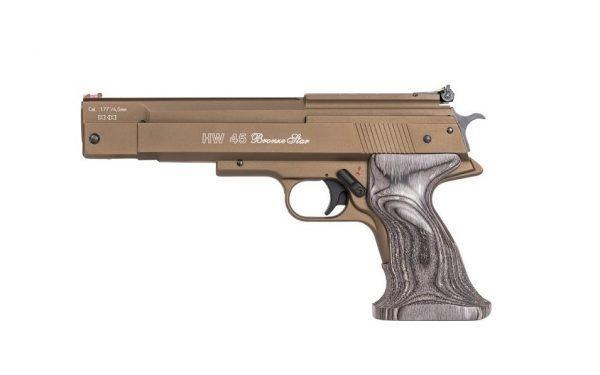 Weihrauch HW45 Bronze Star Over Lever Spring Pistol 1