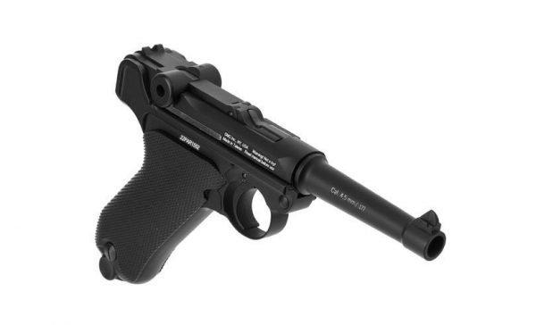 Gletcher P08 Parabellum Luger CO2 Pistol 3