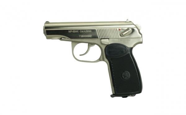 Baikal Makarov MP-654K CO2 Pistol Nickel 4