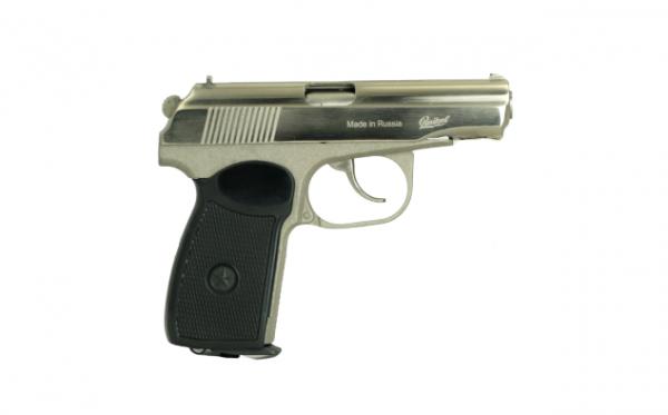 Baikal Makarov MP-654K CO2 Pistol Nickel 1