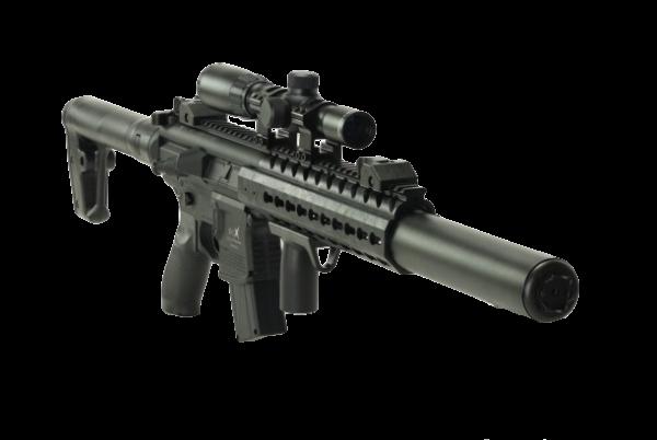 Sig Sauer MCX Air Rifle 1X4X24 Scope 4