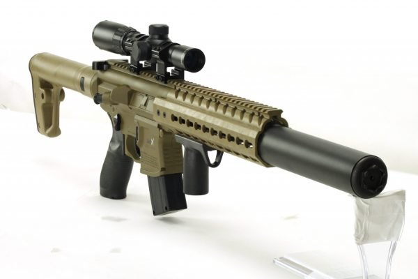 Sig Sauer MCX Air Rifle 1X4X24 Scope FDE 3